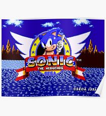 1991 Sonic Poster