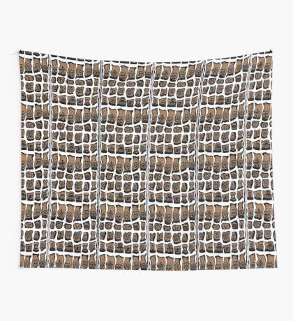 Blanc et noire Wall Tapestry