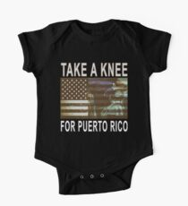 Take a Knee for Puerto Rico Kids Clothes