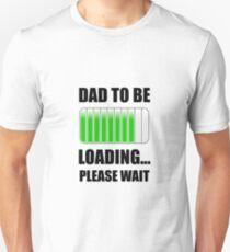 Papa soll geladen werden Slim Fit T-Shirt