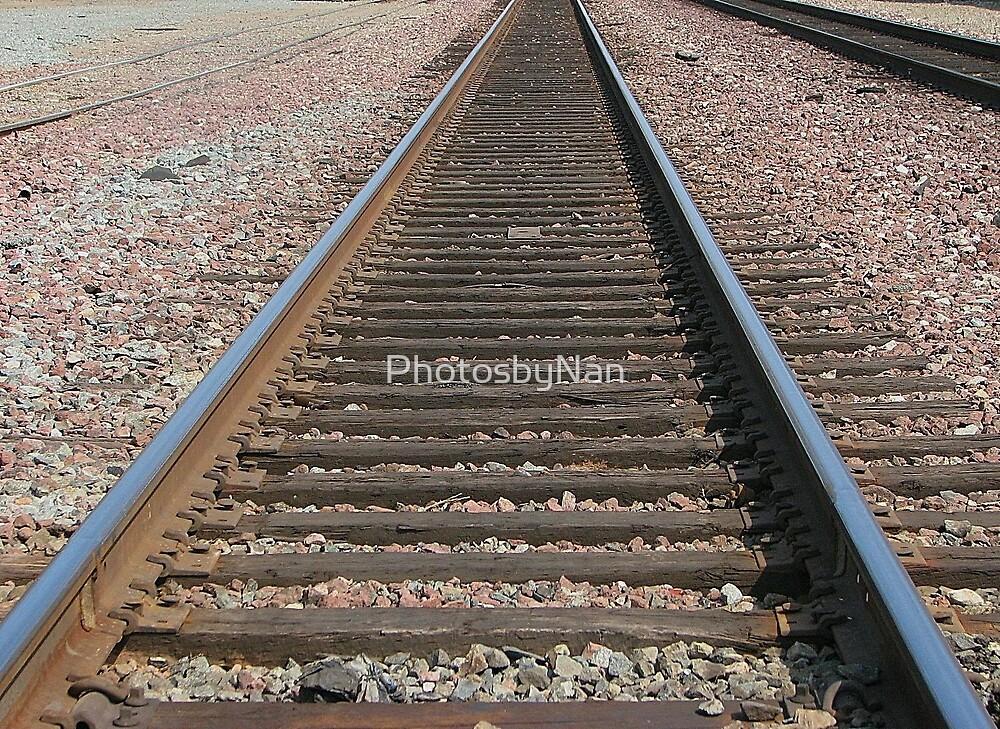 Railroad Track by PhotosbyNan