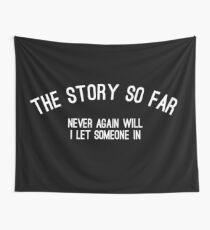 The Story So Far - Roam Flag Wall Tapestry