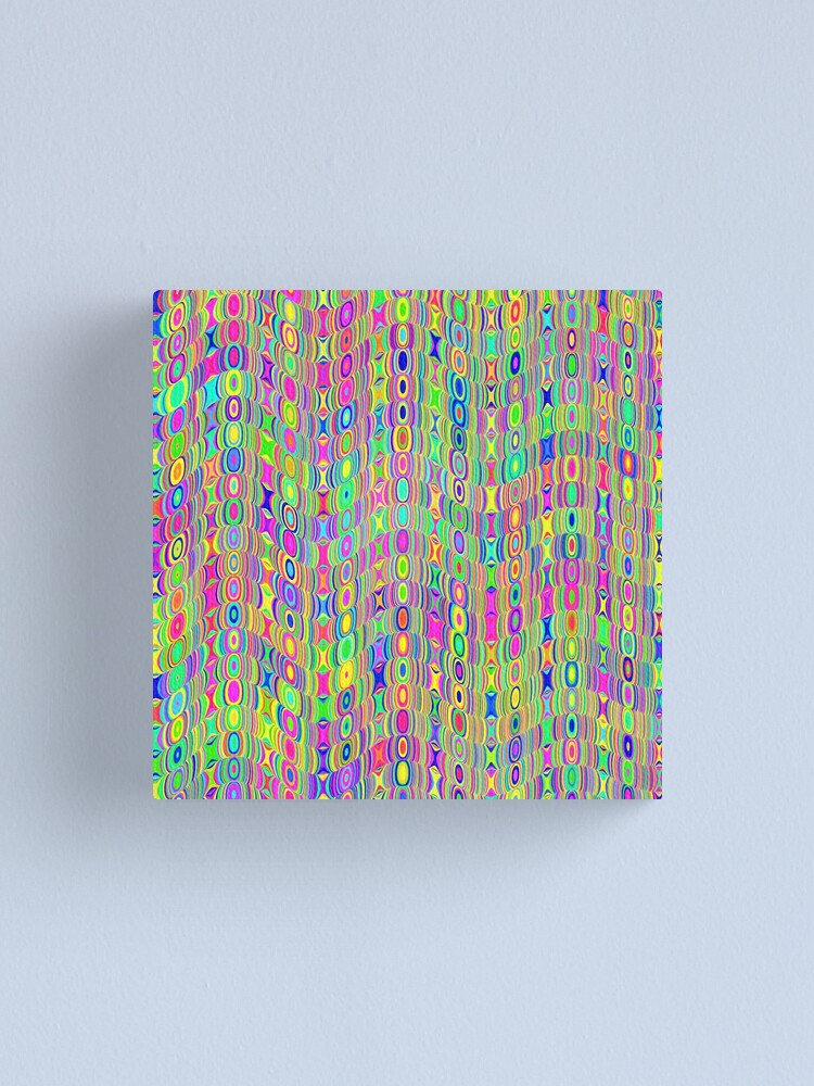 Alternate view of Abstract Meadow Canvas Print