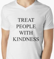 TREAT PEOPLE WITH KINDNESS Men's V-Neck T-Shirt