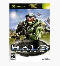 Halo game cover Photographic Print