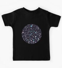 Starry Sky (purple twinkle) Kids Tee