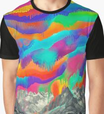Skyfall, Melting North Lights Graphic T-Shirt