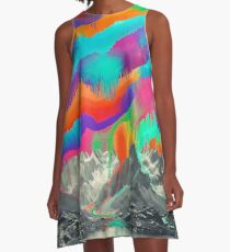Skyfall, Melting Northern Lights A-Line Dress