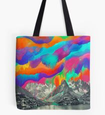 Skyfall, Melting Northern Lights Tote Bag