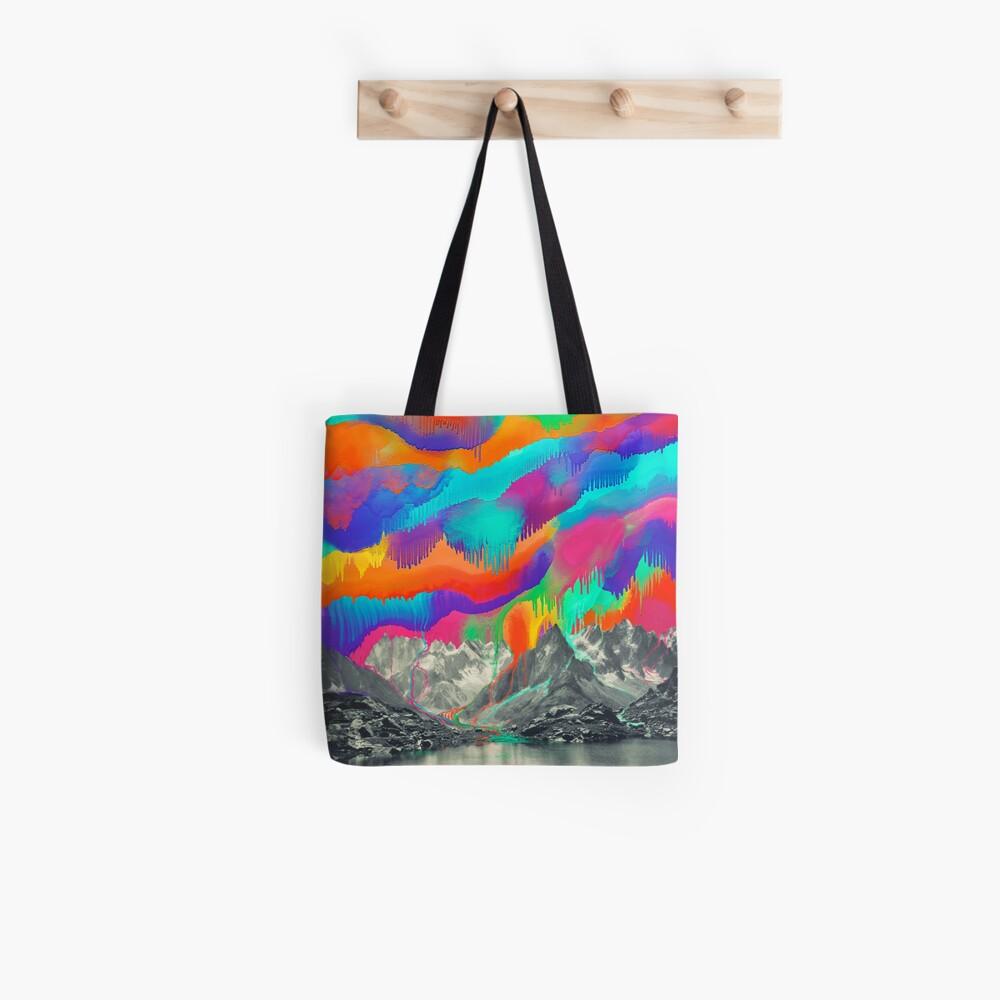 Skyfall, Melting Northern Lights Tote Bag