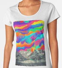 Skyfall, Melting Northern Lights Women's Premium T-Shirt