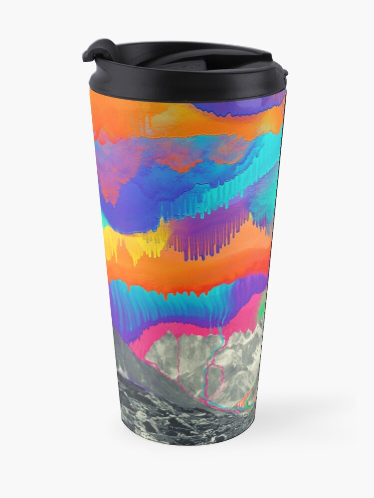 Alternate view of Skyfall, Melting Northern Lights Travel Mug