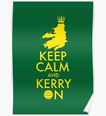Keep Calm and Kerry On Poster