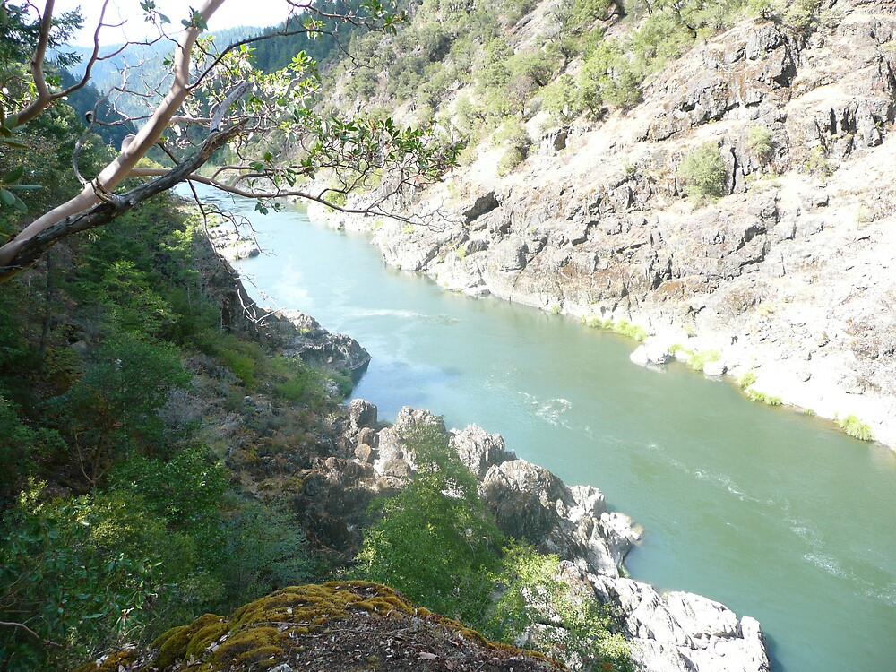 The Rogue River Gorge by phil777