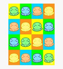 Tako Chan Pop Art V1 Photographic Print