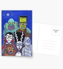 Halloween Reunion Postcards