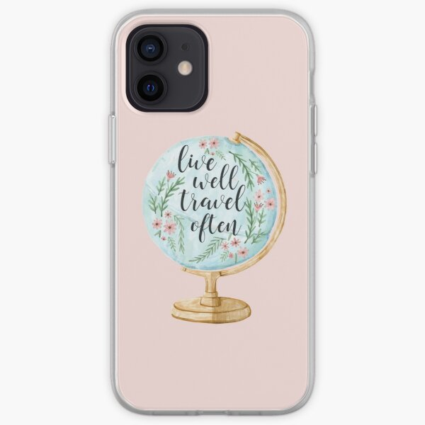 Live Well Travel Often iPhone Soft Case