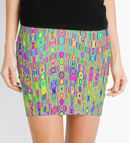 Abstract Meadow Mini Skirt