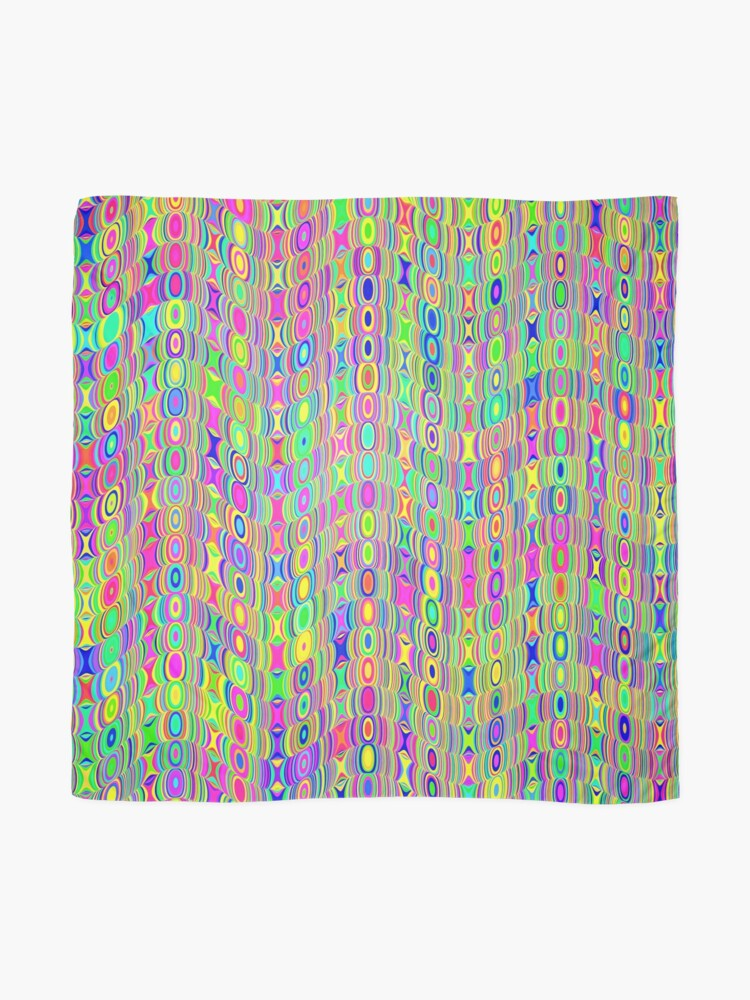 Alternate view of Abstract Meadow Scarf