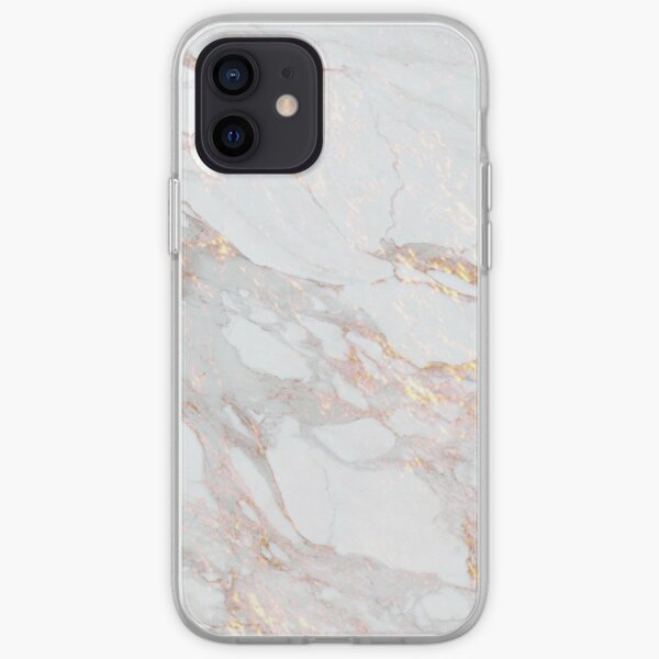 Chic Elegant Gold Marble Pattern iPhone Soft Case
