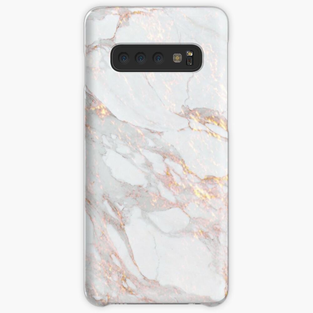 Chic Elegant Gold Marble Pattern Case & Skin for Samsung Galaxy