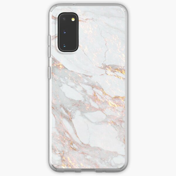Chic Elegant Gold Marble Pattern Samsung Galaxy Soft Case