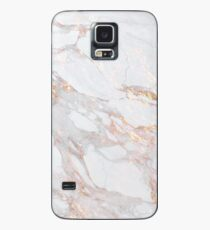 Chic Elegant Gold Marble Pattern Case/Skin for Samsung Galaxy