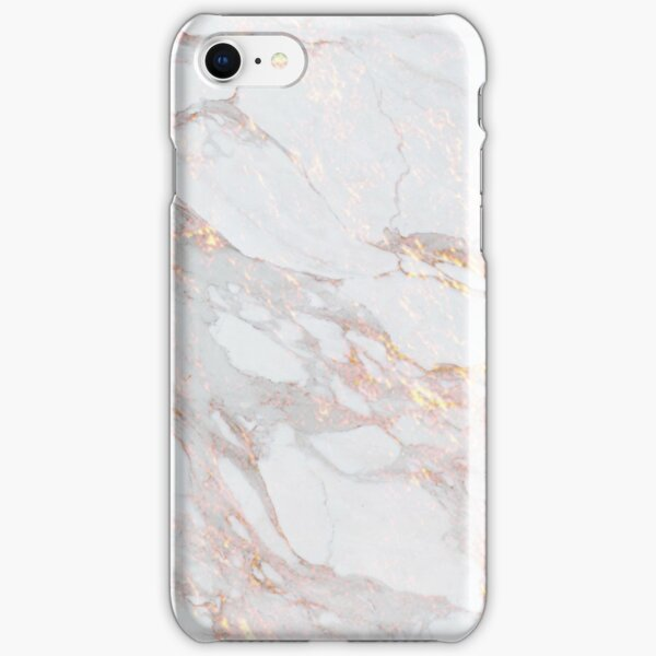 Chic Elegant Gold Marble Pattern iPhone Snap Case