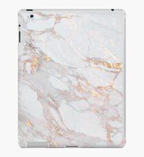 Schickes elegantes Goldmarmor-Muster iPad-Hülle & Klebefolie