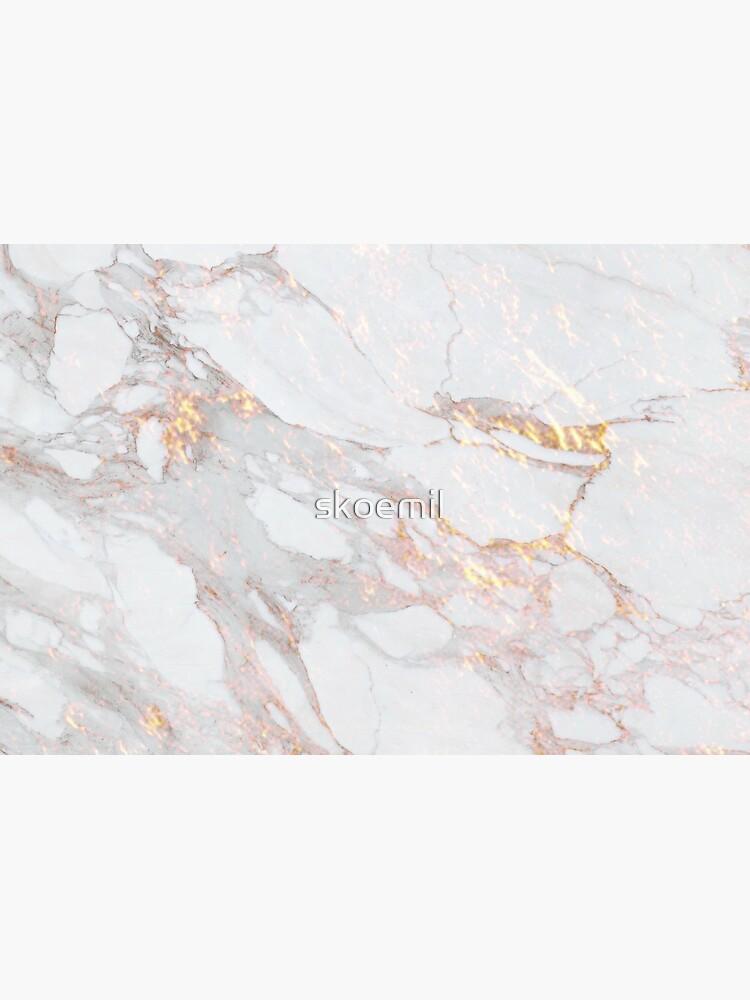 Chic Elegant Gold Marble Pattern by skoemil