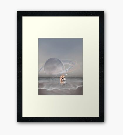 How did I get here, how can I go home. Framed Print