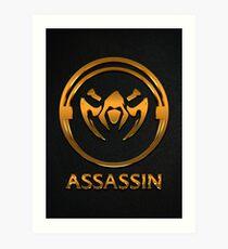 League of Legends ASSASSIN [gold emblem] Art Print