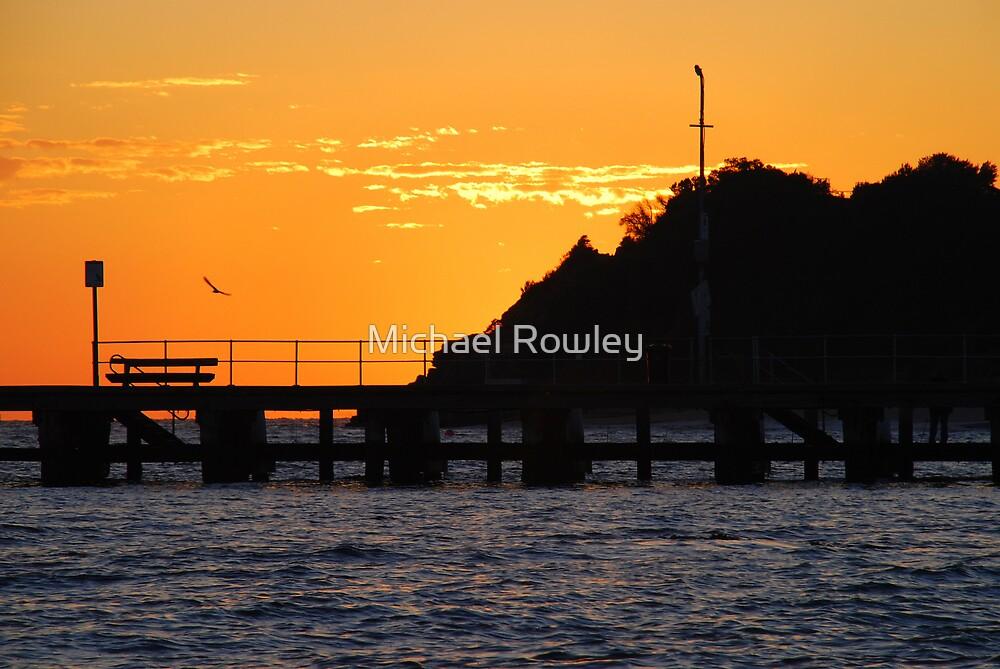 A Portsea Morning by Michael Rowley