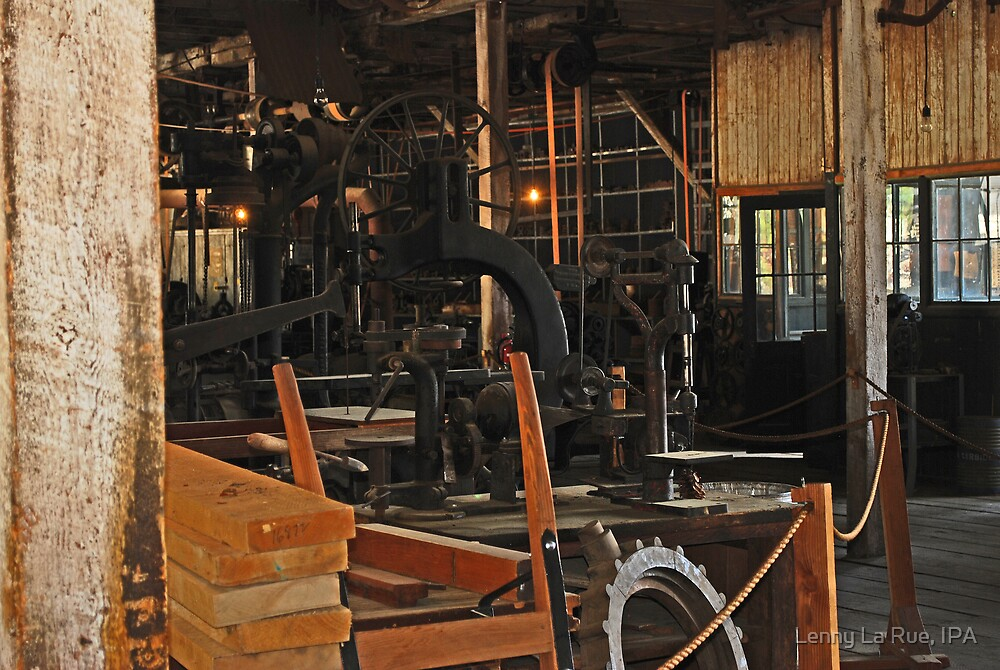 The Carpenter's shop... by Lenny La Rue, IPA
