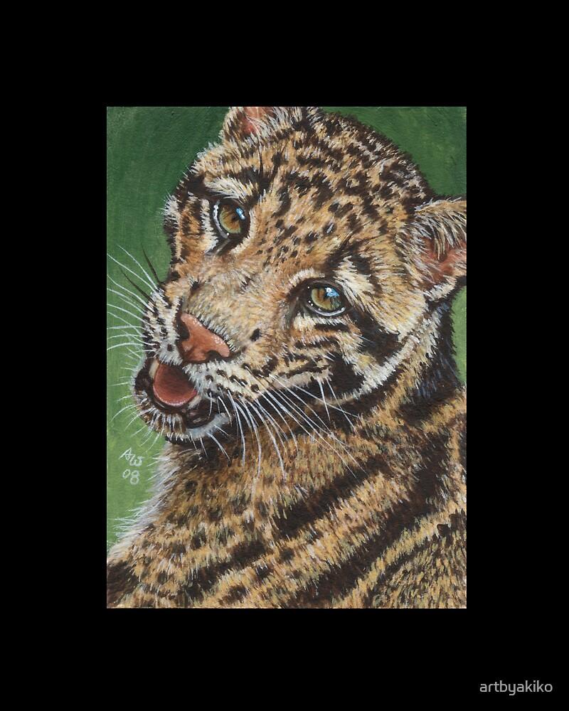 Clouded Leopard #1 by artbyakiko