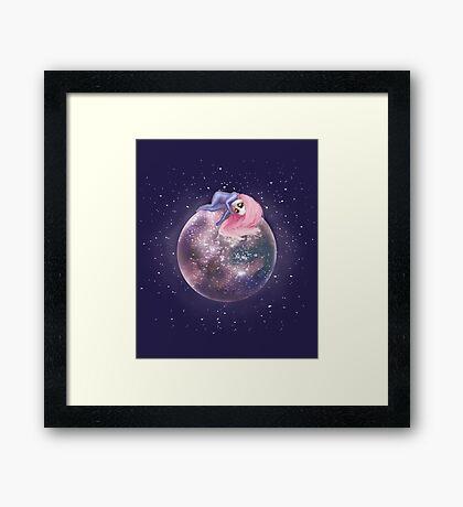Lost in a Space / Callistori Framed Print