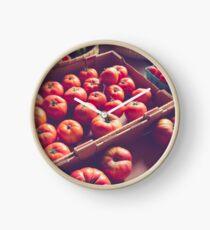Heirloom Tomatoes Clock