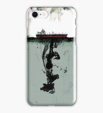 Ship boat spill sea ocean iPhone Case/Skin
