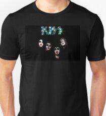Kiss Floating Heads T Shirt Rock and Roll Merch T-Shirt