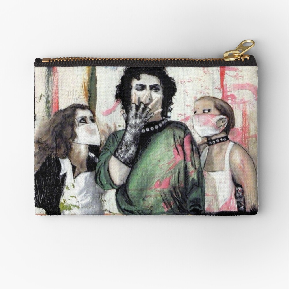 Untitled V Zipper Pouch