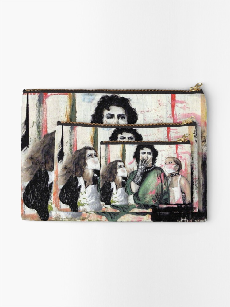Alternate view of Untitled V Zipper Pouch