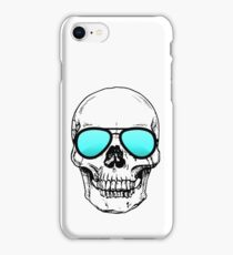 Too Cool for School Skull  iPhone Case/Skin