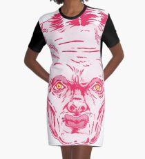 Big Head Graphic T-Shirt Dress