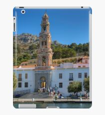 The Monastery on Symi iPad Case/Skin