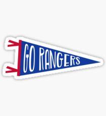 Go Rangers | New York Rangers Sticker