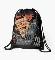 Pizza Kong Drawstring Bag