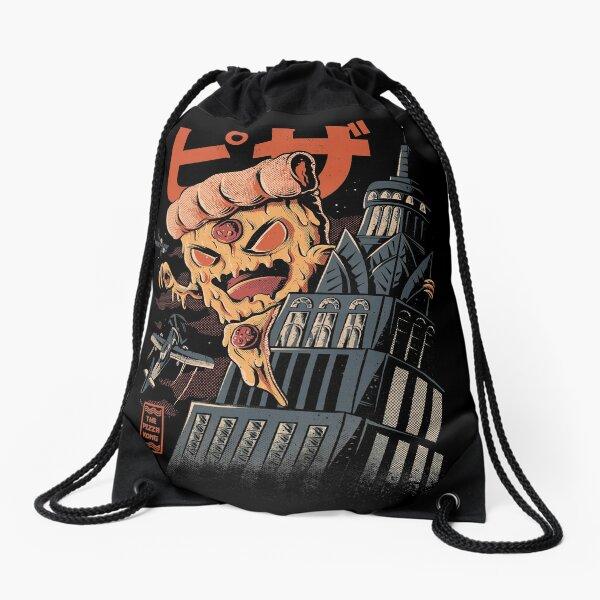 Pizza Kong Drawstring Bag