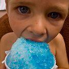 Blue is my favorite flavor by Josh Dayton