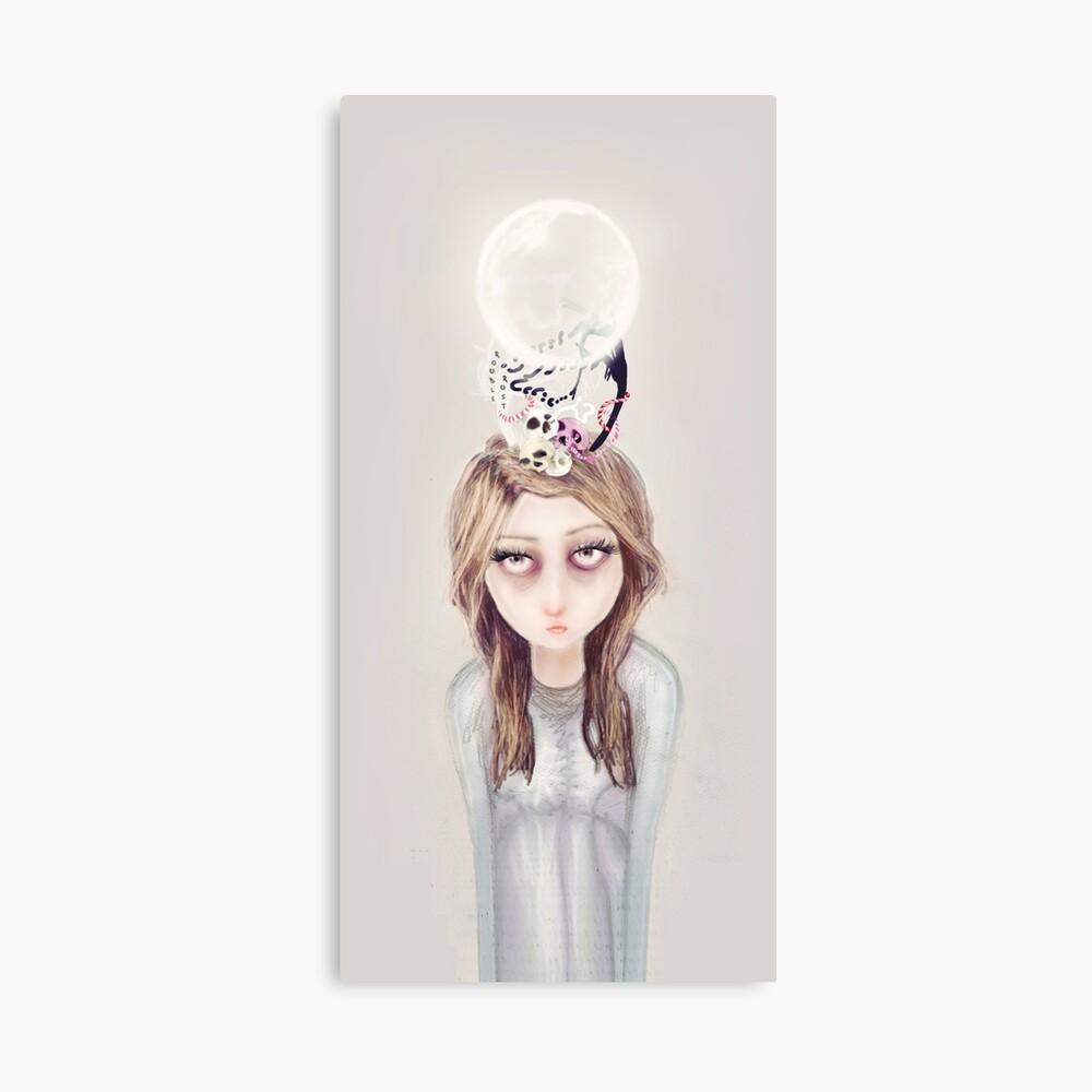 Lost Inspiration Canvas Print