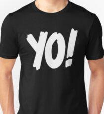Yo! mtv raps replica logo 1993 era WHITE T-Shirt